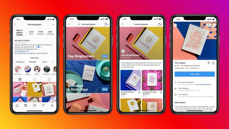 Instagram Shops color
