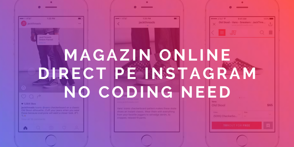 Facebook și Instagram transformă profilurile business în magazine online