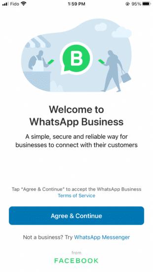 Cum se folosește WhatsApp Business