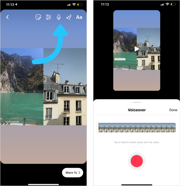 Cum sa folosesti noua functie de pe Instagram Reels - Remix